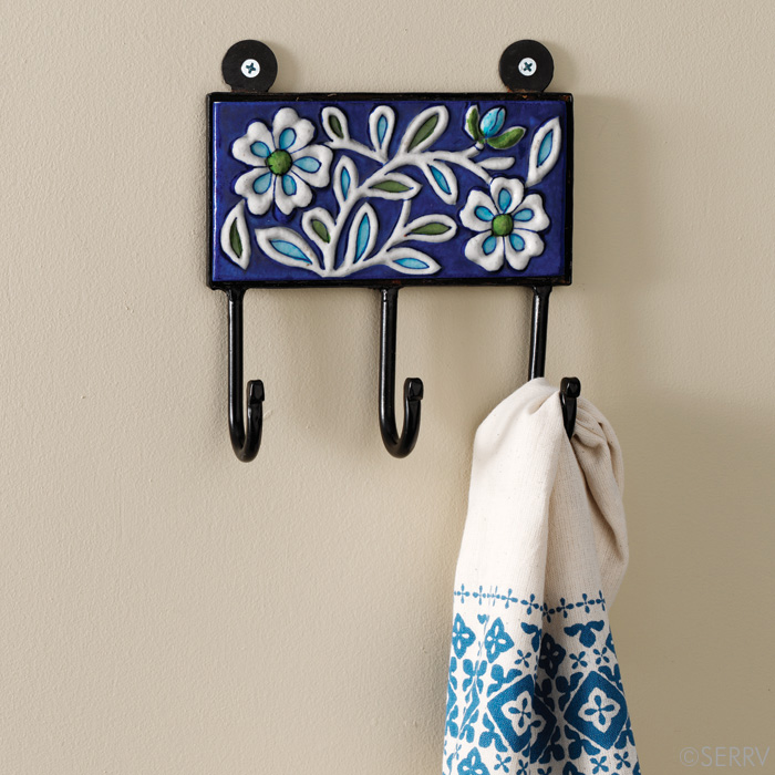 Jaipur Floral Wall Hooks