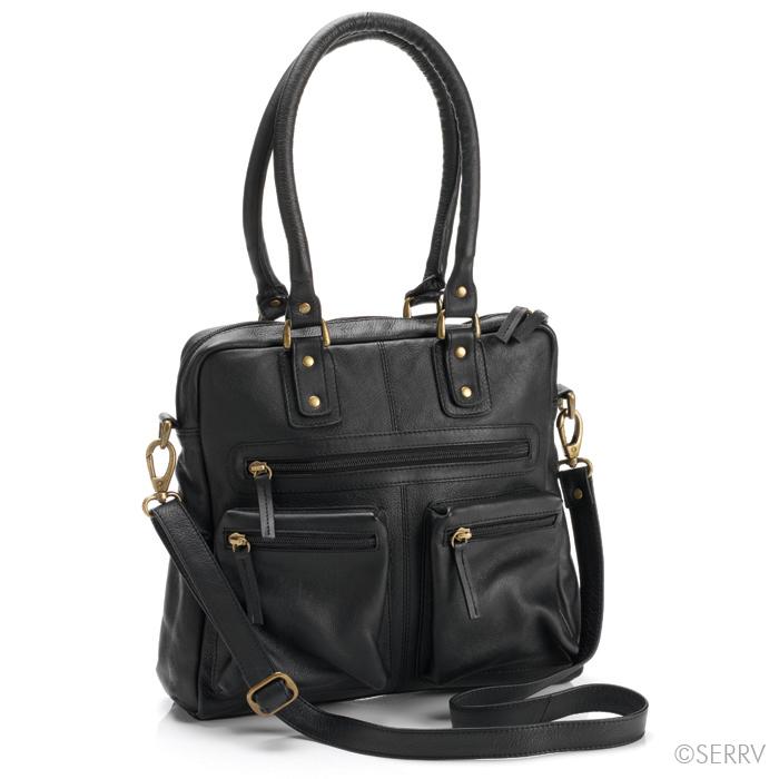 212dc344af Ebony Leather Purse