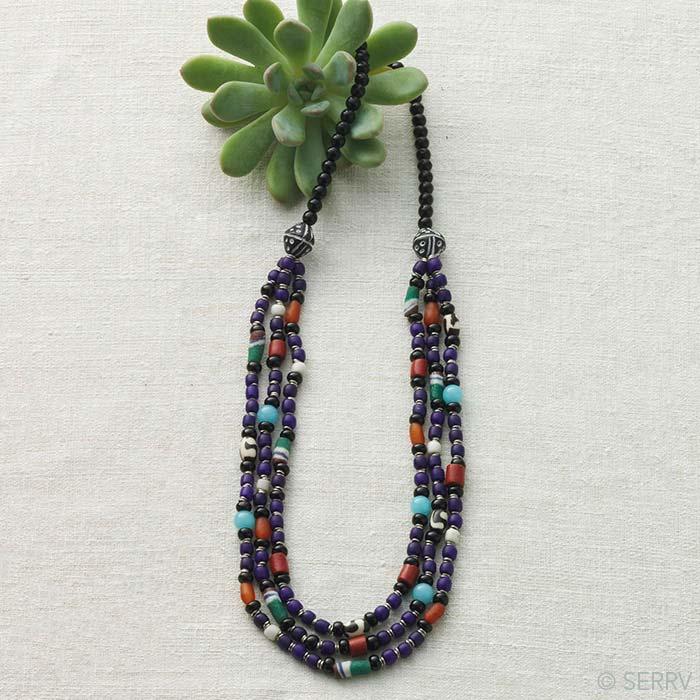 african trade beads necklace fashion serrv international