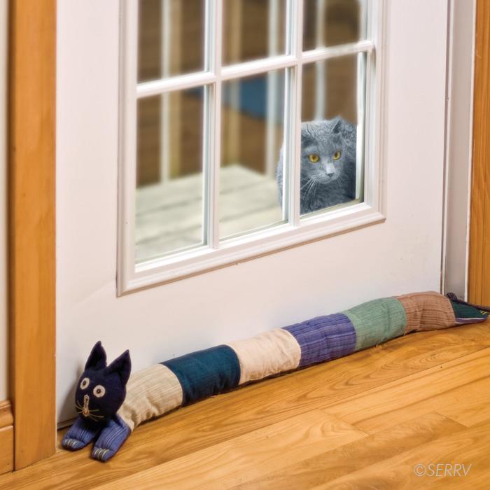 Cat draft stopper - Cat door stoppers ...