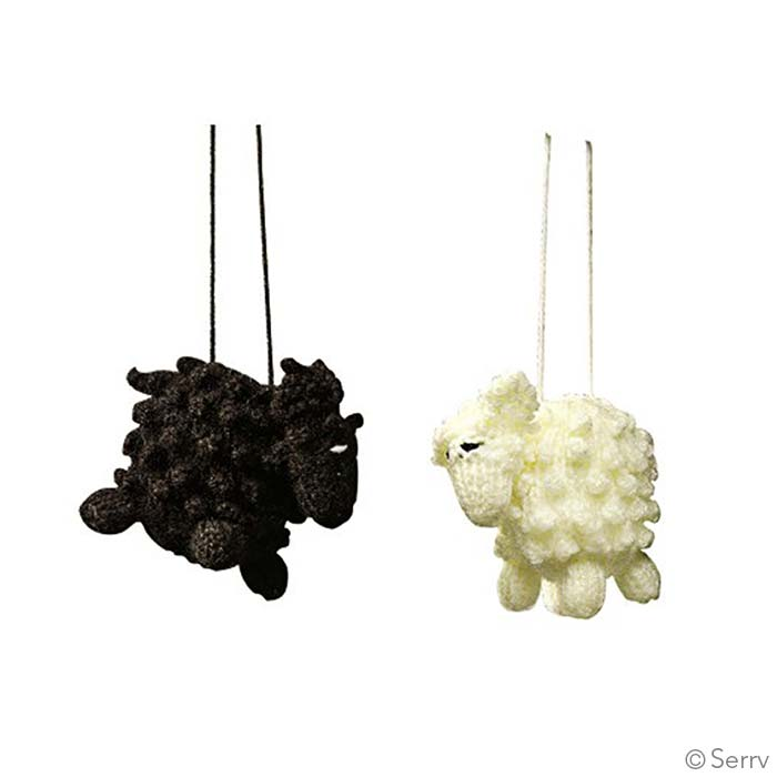 Sheep ornaments for Sheep christmas ornament craft