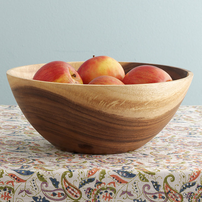 Acacia Fruit Bowl Bowls Plates Mugs Serrv International