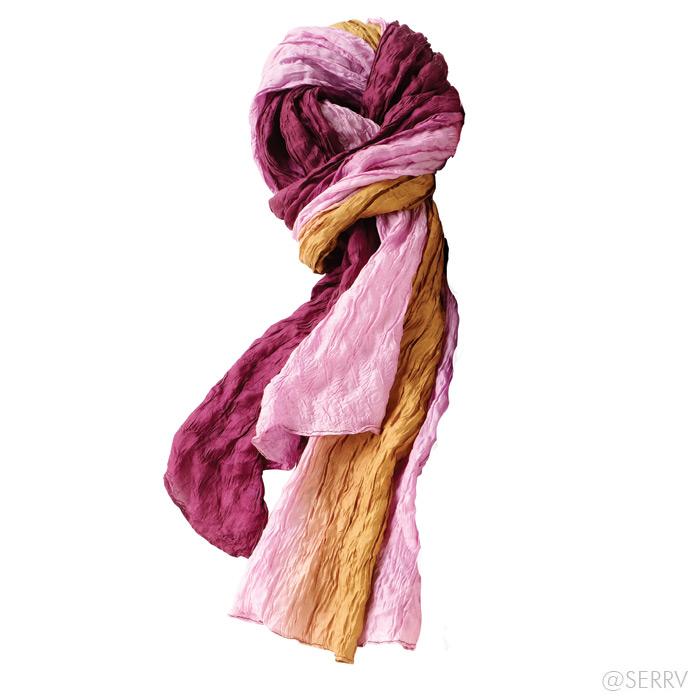 scarves eastern horizon crinkle scarf