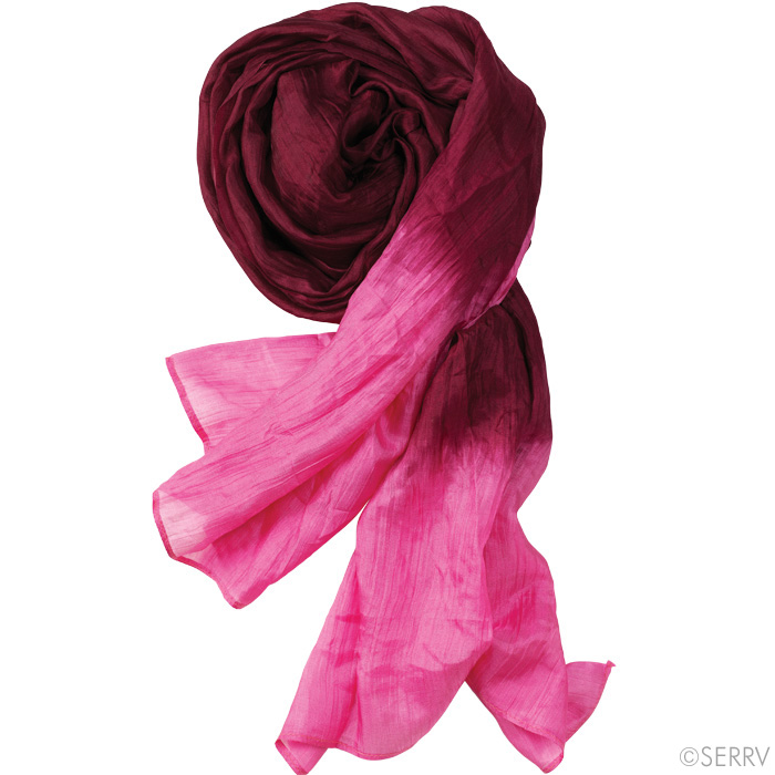 scarves plum pink silk scarf