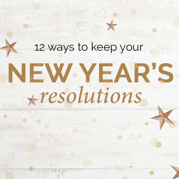 Give Yourself a Fair Chance! Keep Your New Year's Resolutions With a Fair Trade Purchase