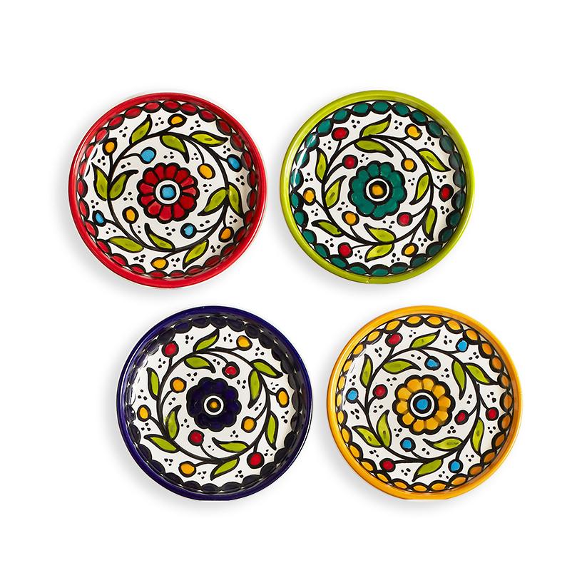 West Bank Appetizer Plates - Set of 4