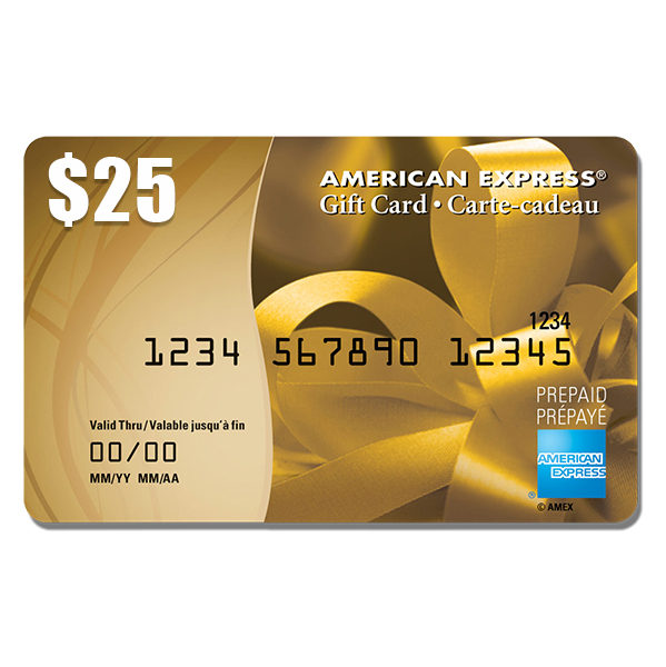 $25 American Express Gift Card