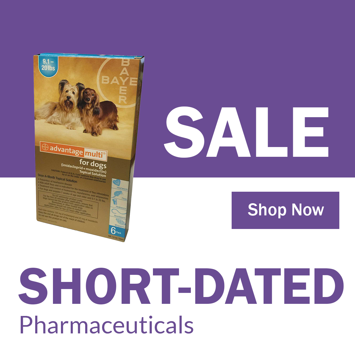 Short-Dated Pharmaceutical Sale