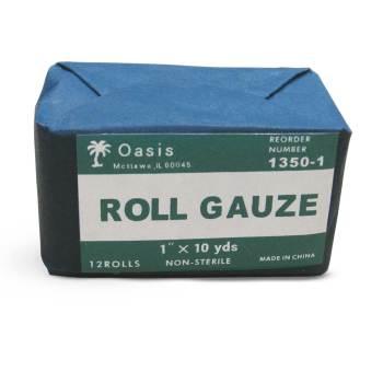 """GAUZE,ROLL,1""""x10YD,N/S,12/BAG"""