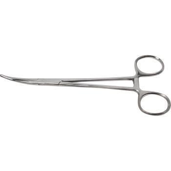 """FORCEPS, KELLY, 6-1/4"""", CURVED"""