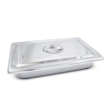 STAINLESS STEEL INaSTRUMENT TRAY, W/COVER
