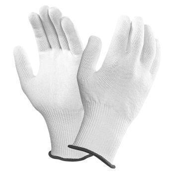 Ansell The Inspector Multi Purpose Nylon Gloves, Size 6, White, 78-408-6, Pair