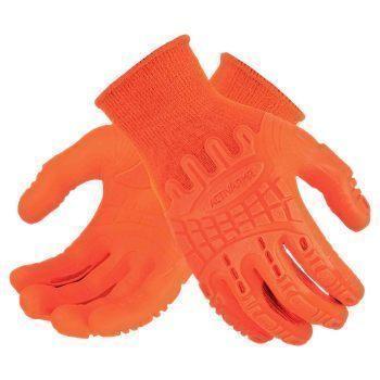 Ansell MadGrip 7000 Hi-Viz Orange Gloves, Size 9, 97-321, Pair