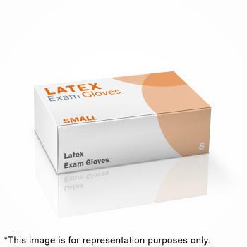 GLOVE,LATEX EXAM,P/F,SMALL,100/BX