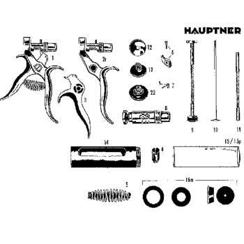 Set, washer pack, modified haupter, perpendo tb syringe, 2cc