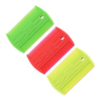 Flea comb,Colored flea combs, 72 pk.