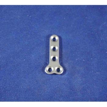 T-Plate, 2.7mm T 5 hole, 32mm