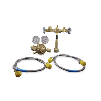 Nitrogen manifold w/ pressure switch port