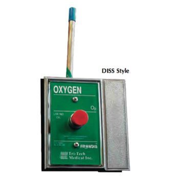 Oxygen Connector,Surface mount male DISS