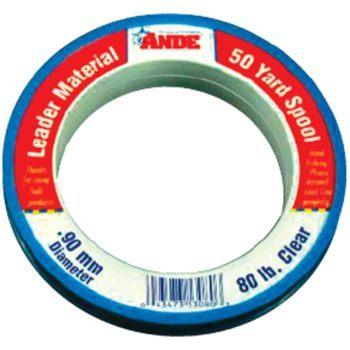 Suture, cruciate repair, nylon 80lb leader line, 50 yd. reel