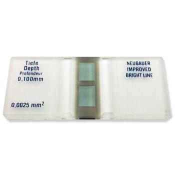 Labscope, neubauer hemacytometer, coverslip, each