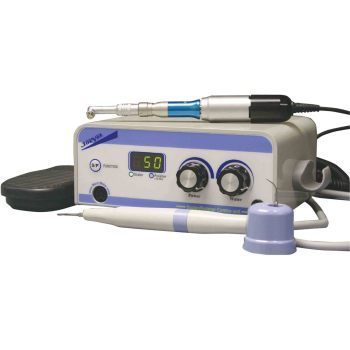 Ultrasonic, dental piezo combo unit