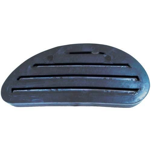 Black plastic hoof block