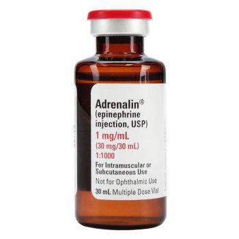 RX EPINEPHRINE ADRENALIN 1MG/ML, 30 ML