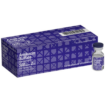 RX AMIKACIN 500MG 10X2ML/BOX