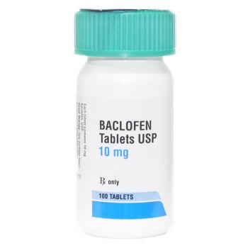 RX Baclofen 10mg 100 tablets