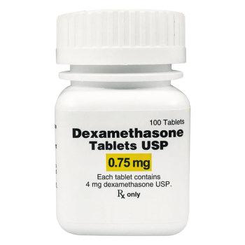 RX DEXAMETHASONE 0.75MG, 100 TABLETS