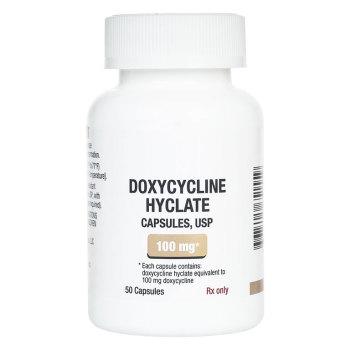 RX DOXYCYCLINE HY 100MG 50 CAPS