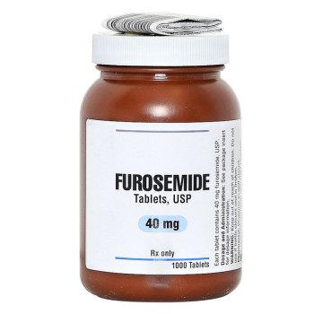 RX FUROSEMIDE 40MG,1000 TABLETS