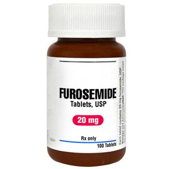 RX FUROSEMIDE 20MG, 100 TABLETS
