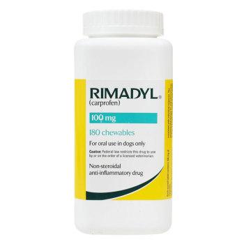 RXV, ZOETIS, RIMADYL 100MG 180 CHEW TABS