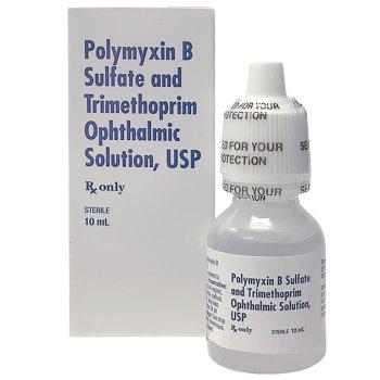 RX POLYMYXIN B SULF & TRIM OPTH, 10 ML