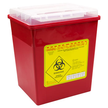 SHARPS CONTAINER 2 GAL,EA