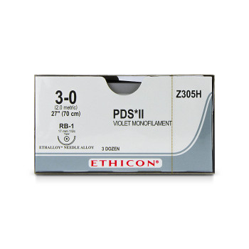SUTURE,PDS,3-0,RB-1,36/BX