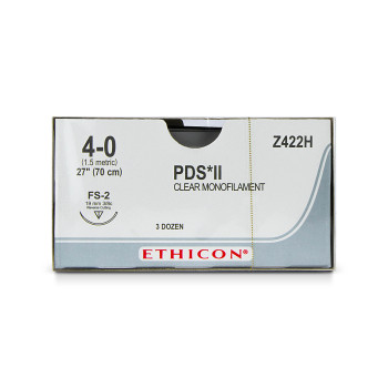 SUTURE,PDS,4-0,FS-2,36/BX