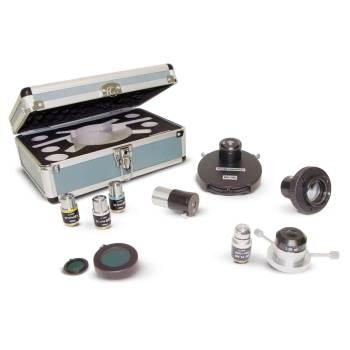 Scope, binocular lab, w/ phase turret