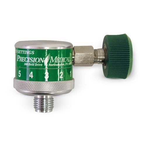 Flowmeter Dial flowmeter w/female DISS & male DISS