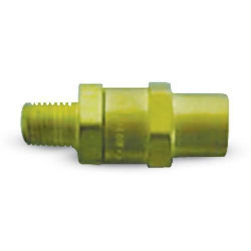 """Oxygen Hose Assembly,1/4"""" male x 1/4""""female w/ ck valve"""