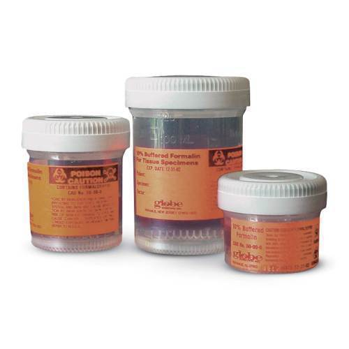 CONTAINER, FORMALIN-FILLED, 15mL, 10PK