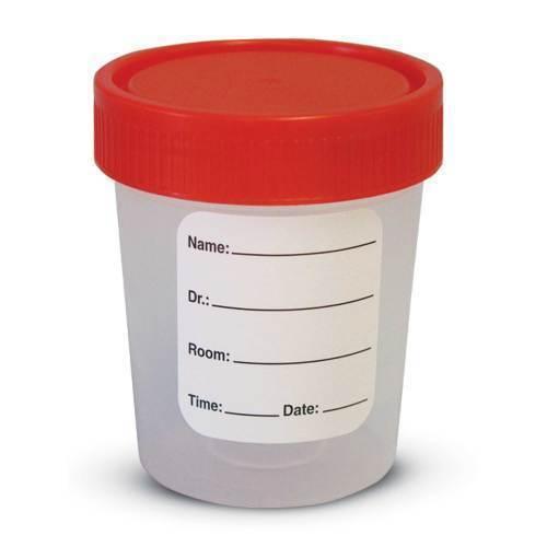 Container, specimen disposable, 4 oz,100/bag sterile