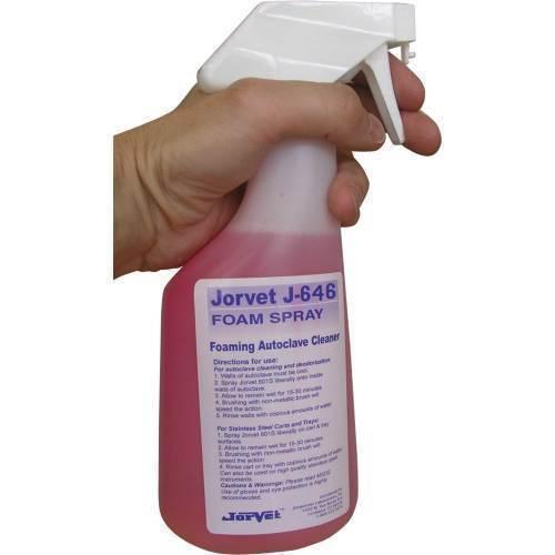 Spray, foaming autoclave cleaner 22 oz.pump
