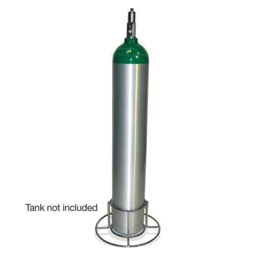 "Oxygen,""E"" cylinder stand"