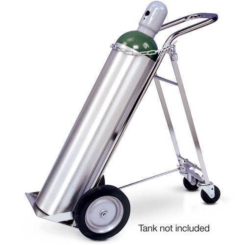 "Oxygen,""H"" oxygen clylinder cart"