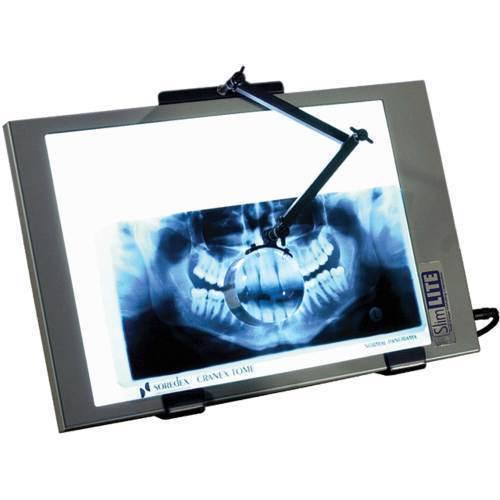 X-ray, magna arm magnifier for large illuminators