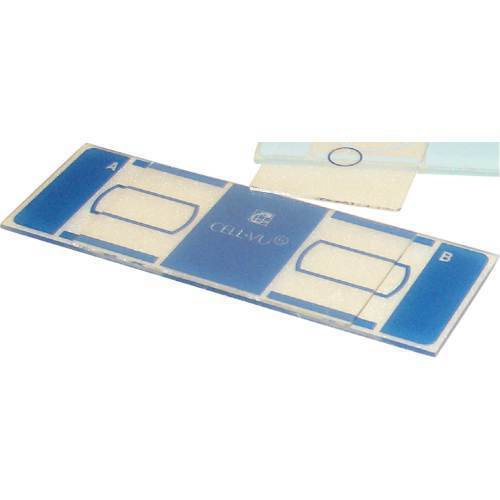 Labscope, neubauer hemacytometer, cellvu hemacytometer system kit
