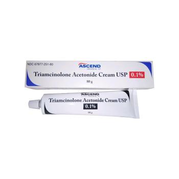 RX TRIAMCINOLONE CREAM 0.1% 80 G